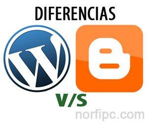 Diferencias entre un blog en WordPress y uno en Blogger