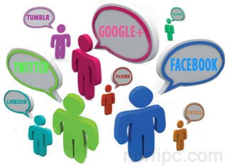 Como ligar en las redes sociales