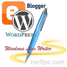 Usar un editor de blog offline para publicar en Blogger y WordPress