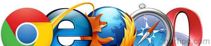 Los principales navegadores web usados en internet