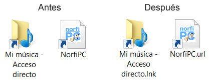 eliminar archivos msdos: