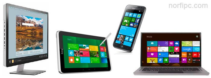 Instalar y usar Windows 8 en dispositivos y equipos diferentes