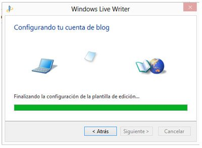 Importando la configuraci�n de un blog a Windows Live Writer