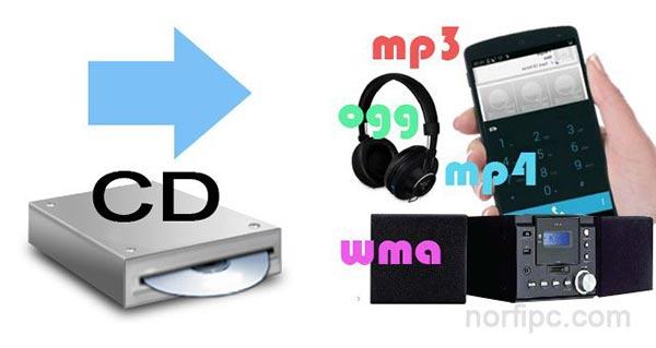 como convertir un cd a mp3: