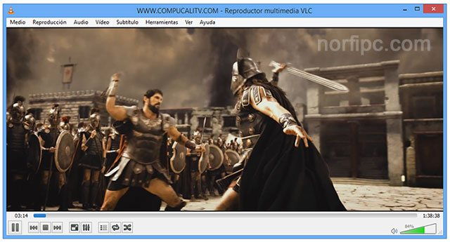 Reproducir un disco de DVD en Windows 8 con VLC