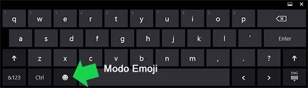 Como Crear Figuras Emoji Con El Teclado Táctil En Windows