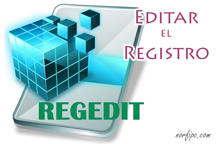 Modificar y editar el Registro con Regedit