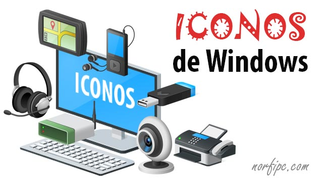 Como usar, copiar y extraer los iconos de Windows 10