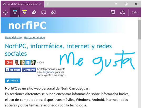 Tip De Windows 10 Mejoras A Pdf En Microsoft Edge: Windows 10, Características, Nuevas Funciones Y Mejoras