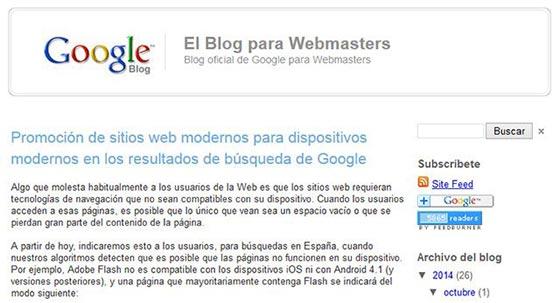 El Blog para Webmasters