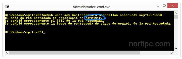 Crear una red ad hoc en Windows 8