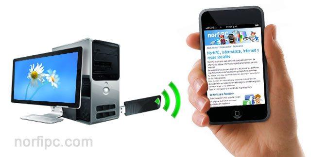 Cómo utilizar tu celular como red WIFI