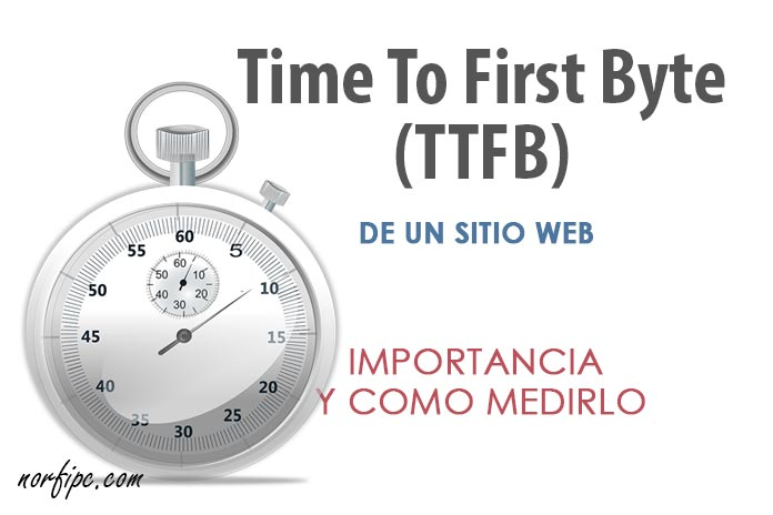 Que es el Time To First Byte (TTFB), importancia y como medirlo