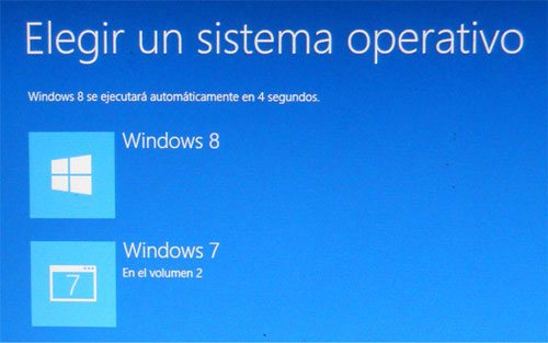 Men� de inicio dual en Windows 8